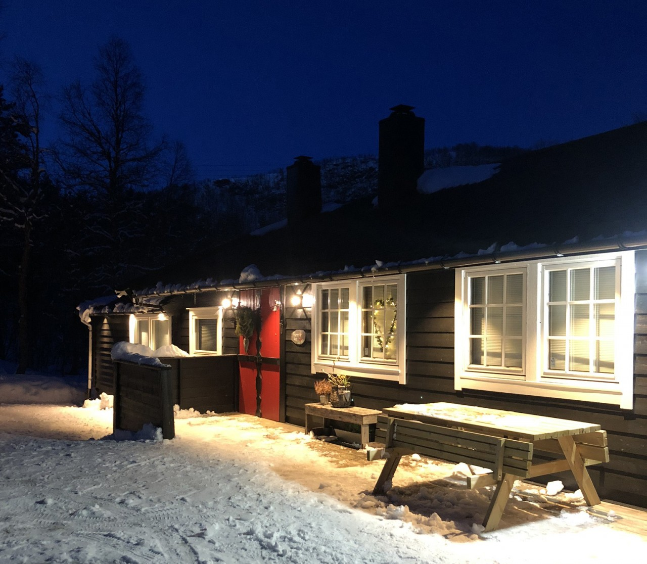 Furuvanghytta en hytte med nytt og gammelt Hyttebloggen